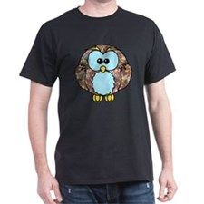 brownfloralowl T-Shirt
