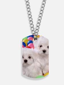 bishonFB slider Dog Tags
