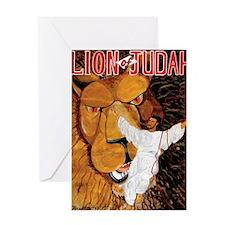 Lion_of_Judah Greeting Card