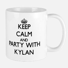Keep Calm and Party with Kylan Mugs