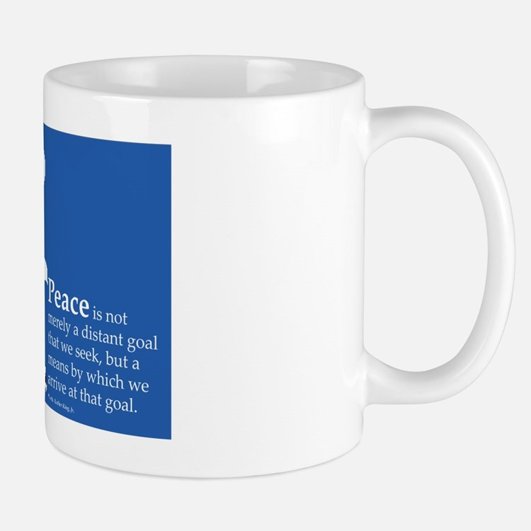 WILPF Peace by Martin Luther King Mug