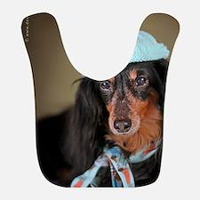 Hallie Dachshund Designs Knitted Hat 2 Bib