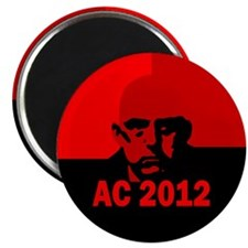 aleister-crowley-round-xparent Magnet