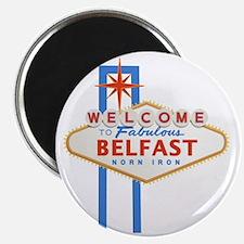 Belfast - Las Vegas Sign Magnet