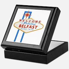 Belfast - Las Vegas Sign Keepsake Box