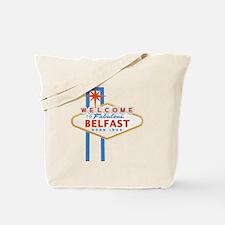 Belfast - Las Vegas Sign Tote Bag