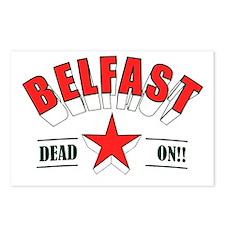 belfast Postcards (Package of 8)