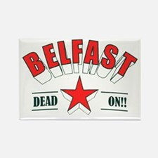 belfast Rectangle Magnet
