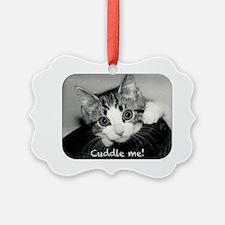 Cuddle me oval Ornament