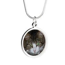 minnie Silver Round Necklace