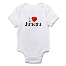 """I Love Juneau"" Infant Bodysuit"