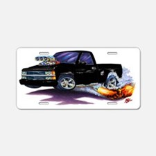 1988-98 Silverado Black Tru Aluminum License Plate