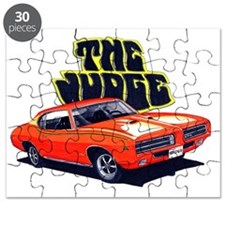 1969 GTO Judge Orange Car Puzzle