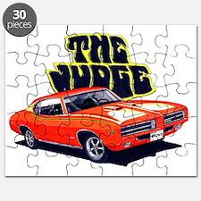 1969 GTO Judge Orange Car Puzzle