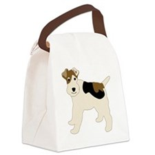 WirehairFoxTerrier-3 Canvas Lunch Bag