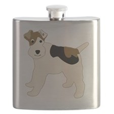 WirehairFoxTerrier-3 Flask