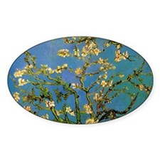 van gogh blossoming almond tree Decal