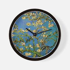 van gogh blossoming almond tree Wall Clock