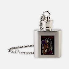 seasons greetings (s) Flask Necklace