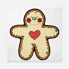Gingerbread Man Queen Duvet