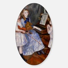 renoir Sticker (Oval)