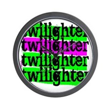 twilighter horizontal copy Wall Clock