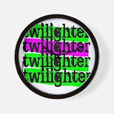 twilighter horizontal copy Wall Clock