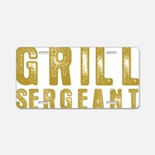 grill1 Aluminum License Plate