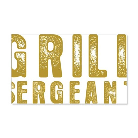grill1 20x12 Wall Decal