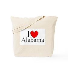 """""""I Love Alabama"""" Tote Bag"""