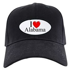 """""""I Love Alabama"""" Baseball Hat"""