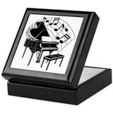Jazz Keepsake Boxes