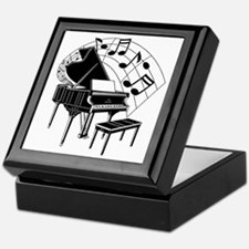 The Piano Keepsake Box