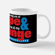Hope  Change Sm Circle Black Mug