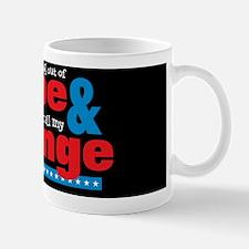 Hope  Change Lg Circle Black Mug