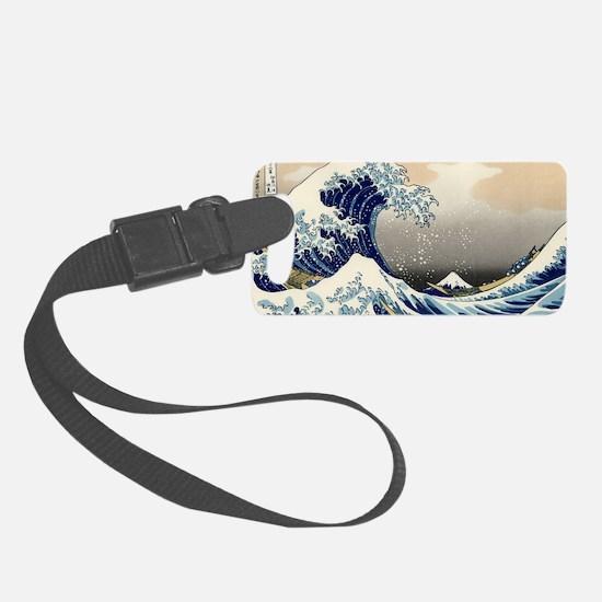 hokusai great wave Luggage Tag