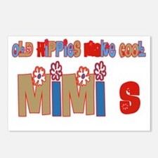 old hippies make cool MIM Postcards (Package of 8)