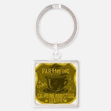 PARAMEDIC Square Keychain