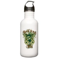 rock and roll king Water Bottle