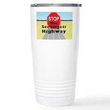 nohighway3 Thermos Mug