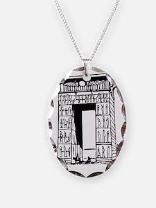 egypt gate karnak Necklace