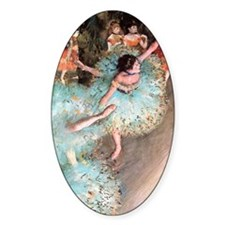 degas dancers Decal