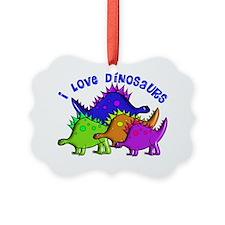 I love dinosaurs 2 Gails Ornament