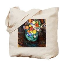 Manievich - Still Life with Green Vase an Tote Bag