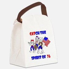 Catch The Spirit Again Canvas Lunch Bag