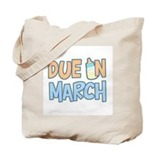 Due In March Boy Tote Bag