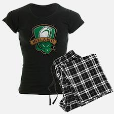 rugby ball ireland shield sh pajamas