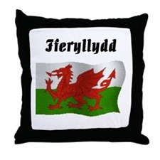 Pharmacist (Wales UK) Throw Pillow