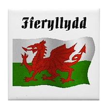 Pharmacist (Wales UK) Tile Coaster
