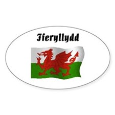 Pharmacist (Wales UK) Oval Decal